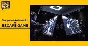 campeonato mundial de escape game
