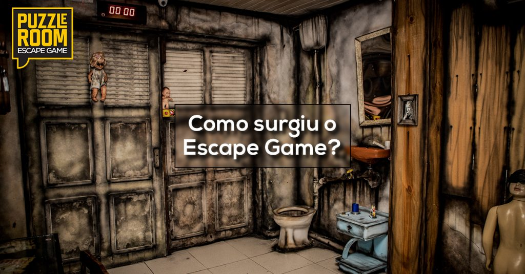 como surgiu o escape game