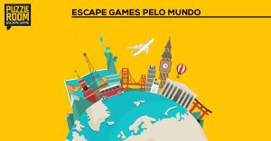 escape games pelo mundo