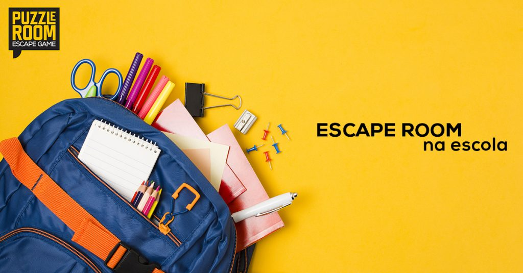escape room na escola