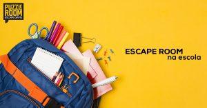 escape room na escola