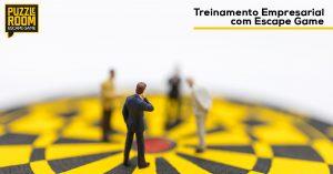 treinamento empresarial com escape game